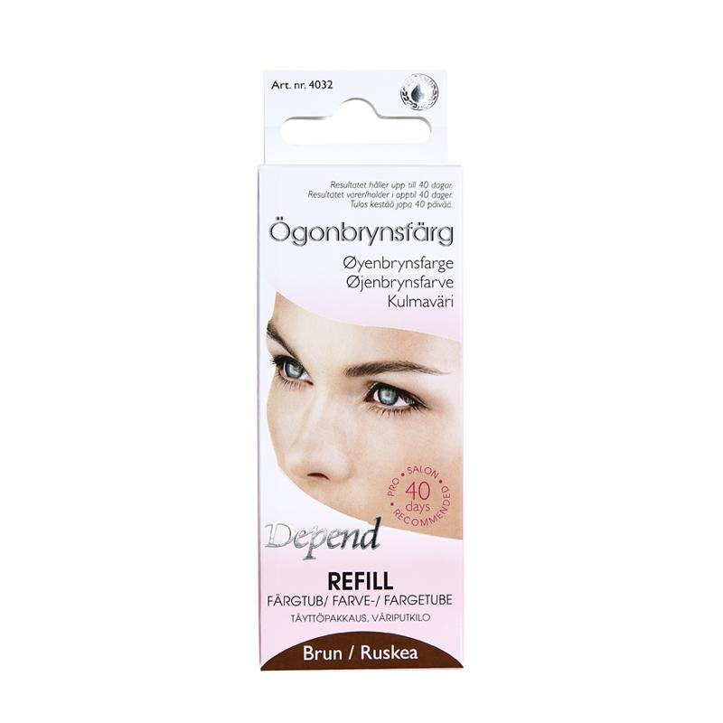 Refill ögonbrynsfärg