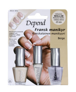 4251 Fransk Manikyrset, beige
