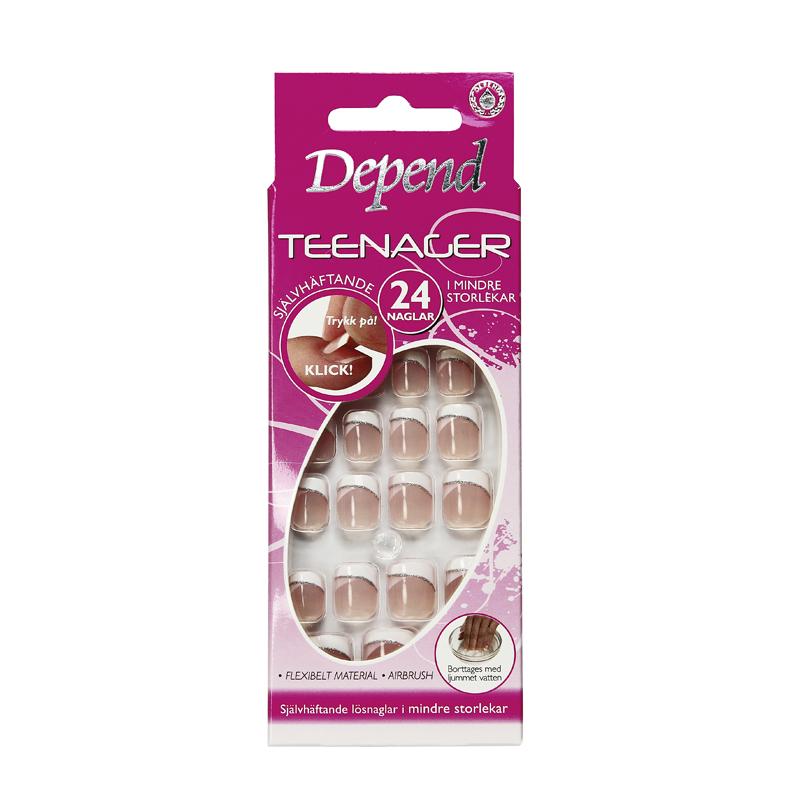 Teenager, Självhäftande naglar
