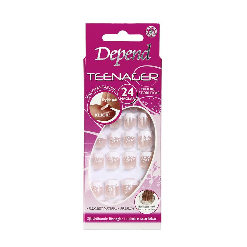 6497 Teenager, Självhäftande naglar