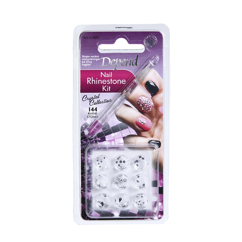 Rhinestonekit för naglar