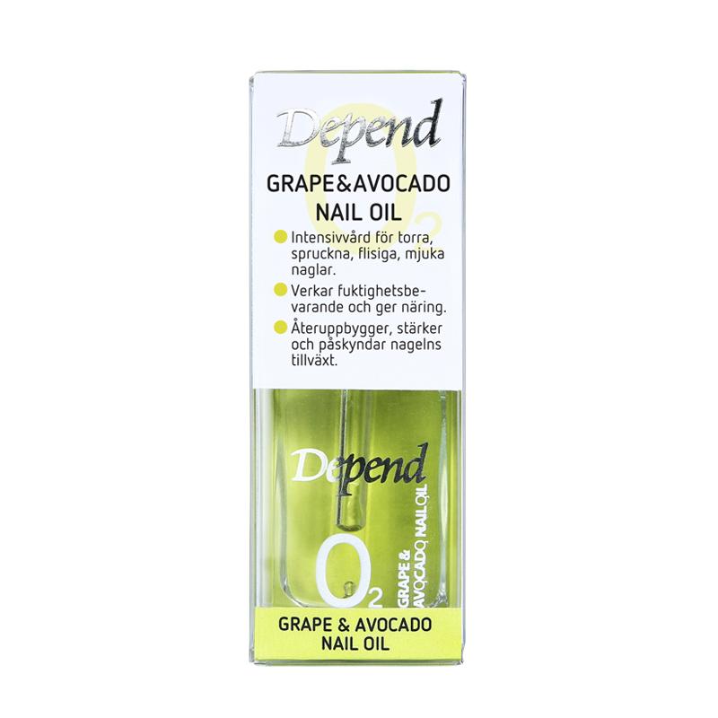 Grape & Avocado Nail Oil (steg 2)