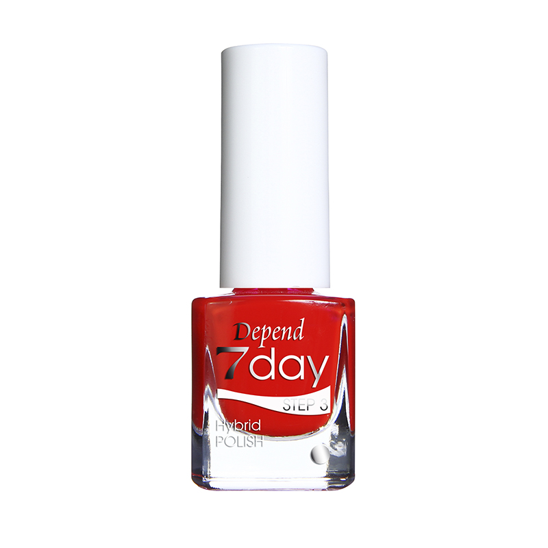 Depend 7day 29807078 Lady Bug Love hybridlack nagellack gel feeling superglans