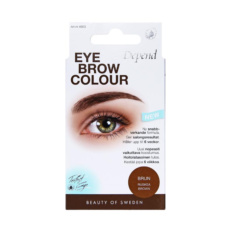 ta bort ögonbrynsfärg