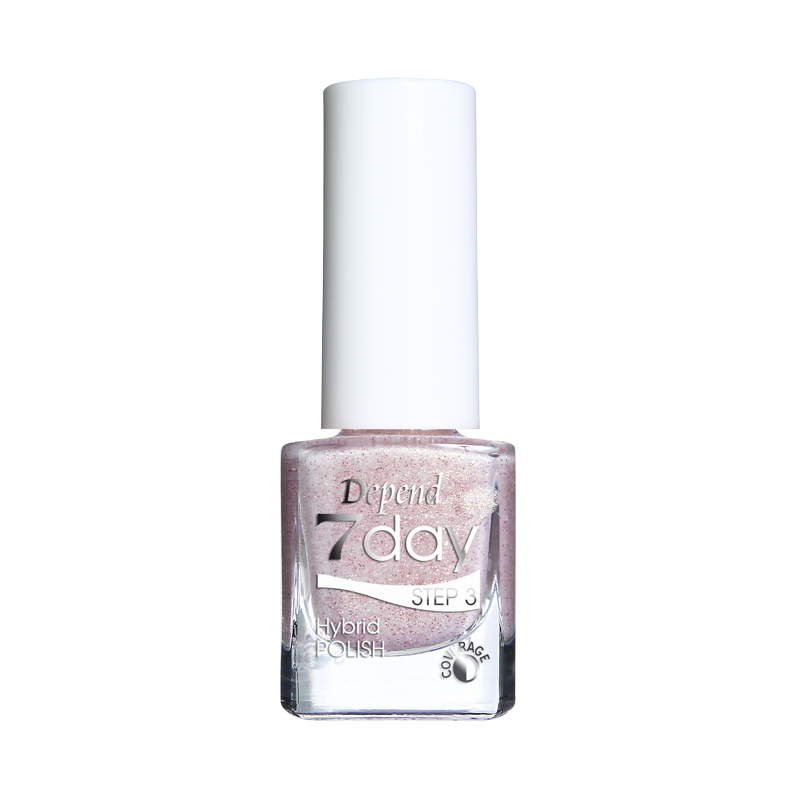 Depend 7day 29807108 Elegant Jasmine hybridlack nagellack gel feeling superglans
