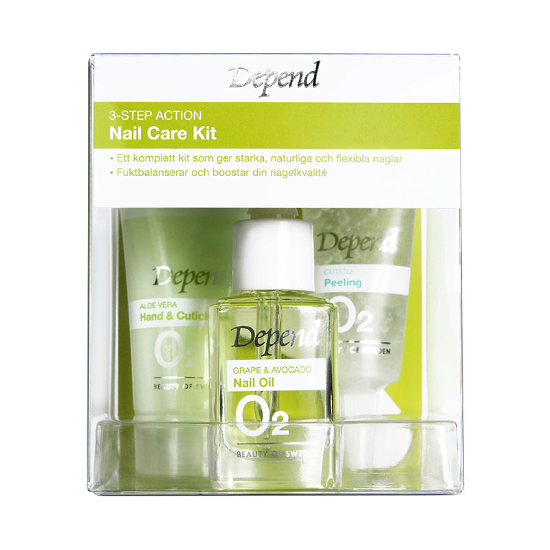 8944-3-step Action Nail Care Kit